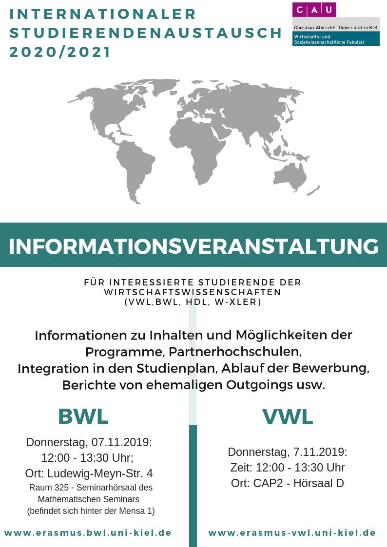 Informationsveranstaltung 7.11.19