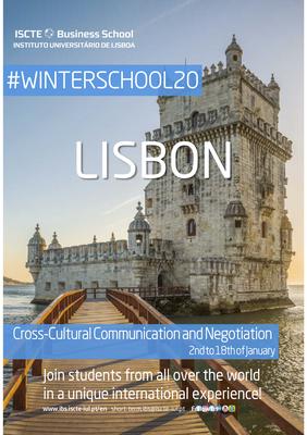 Plakat Winterschool20 Lissabon