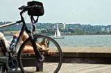 Impressionen der Kiellinie_ Fahrrad_ ©Landeshauptstadt Kiel/Nicole Bettin